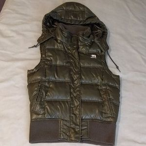 Predator Jackets & Coats - Olive Down Puffer Vest